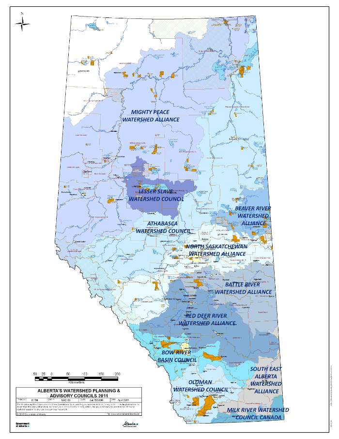 Alberta's Watershed Planning Advisory Councils 2011 by Alberta Environment