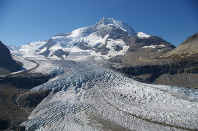 Mount Robson and the Robson Glacier (source: Wordpress)