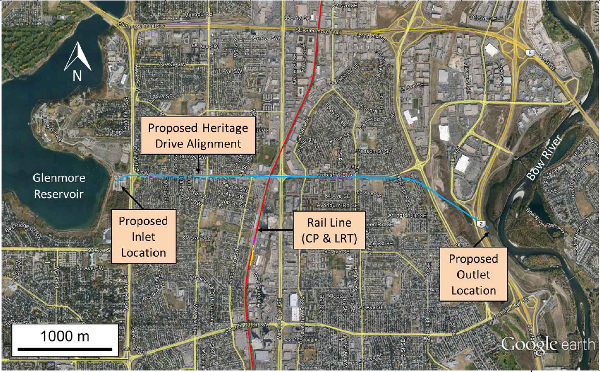 Glenmore Reservoir Proposed Design Heritage Route
