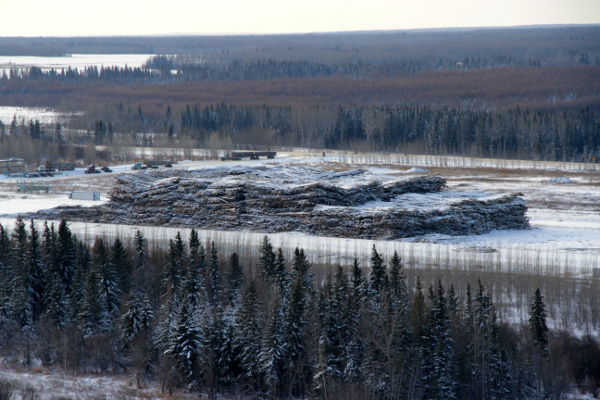The biggest log yard in North America by Green Energy Futures - David Dodge