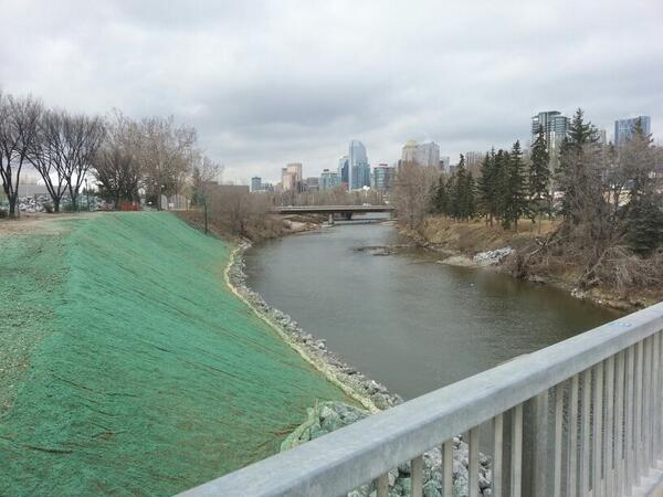 Erosion Control at the Calgary Stampede Grounds