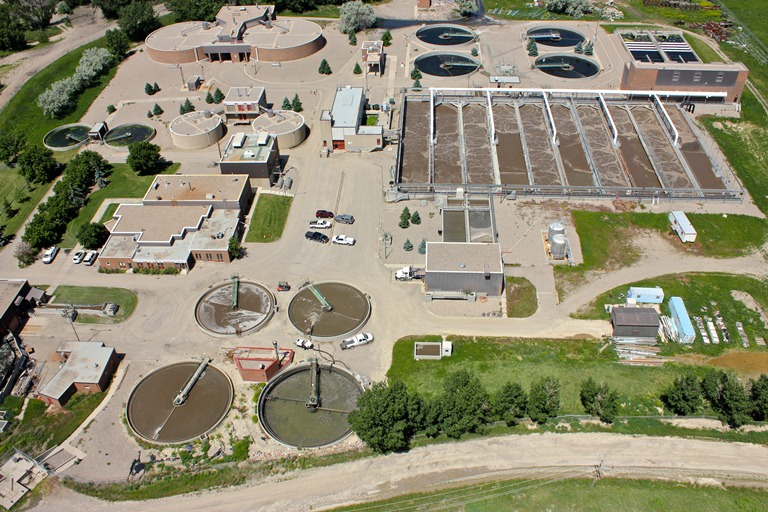 Lethbridge Wastewater Treatment Plant