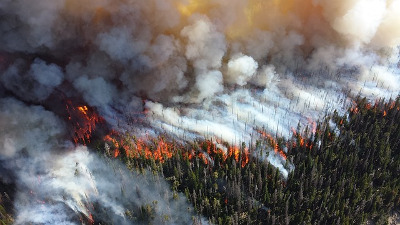 Wildfires source water Robinne fire