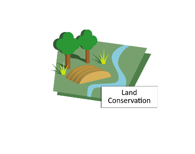 Image depicting a conservation area beside the river.