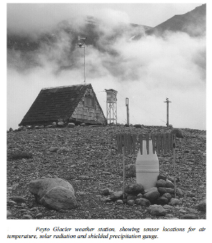Peyto Glacier Weather Station
