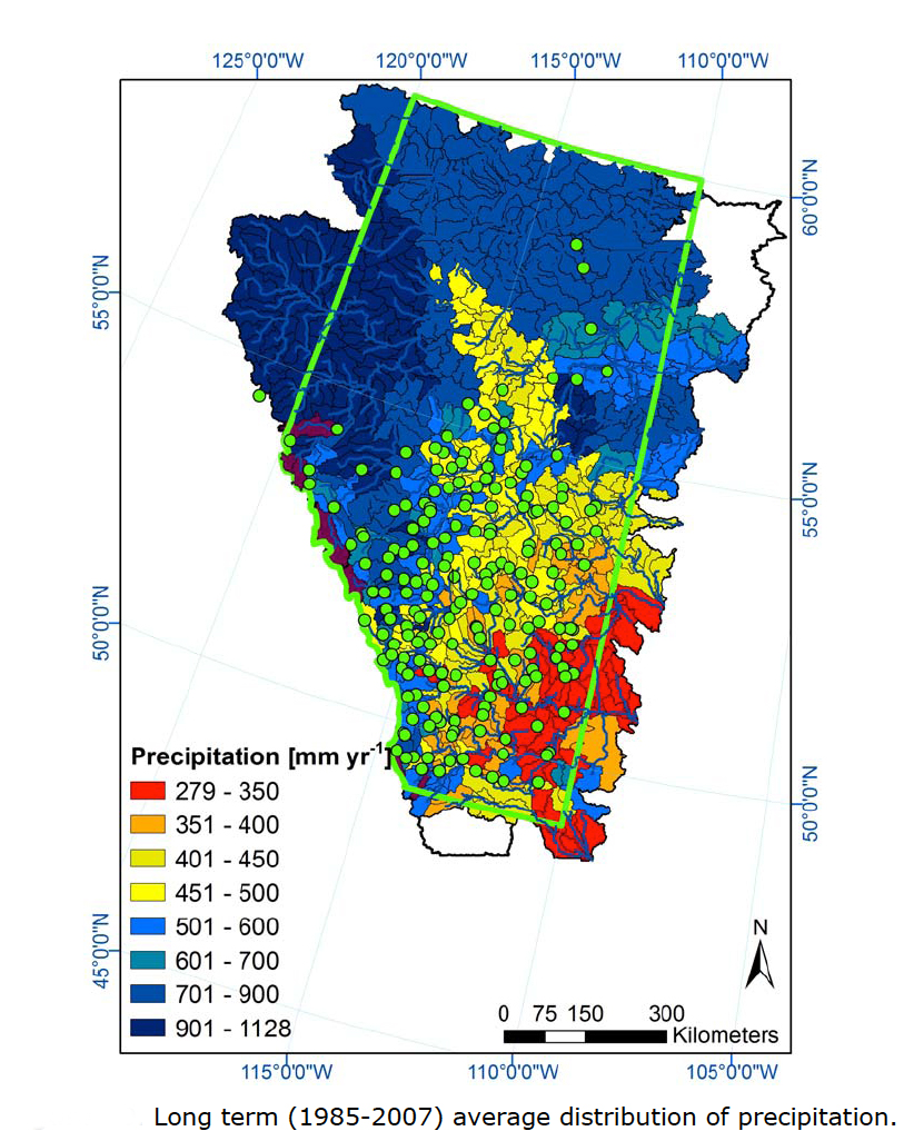 Hydrological Modelling of Alberta - The Results